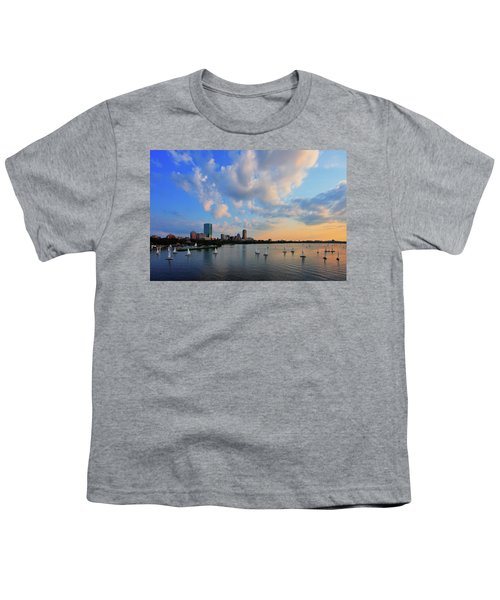 On The River Youth T-Shirt by Rick Berk