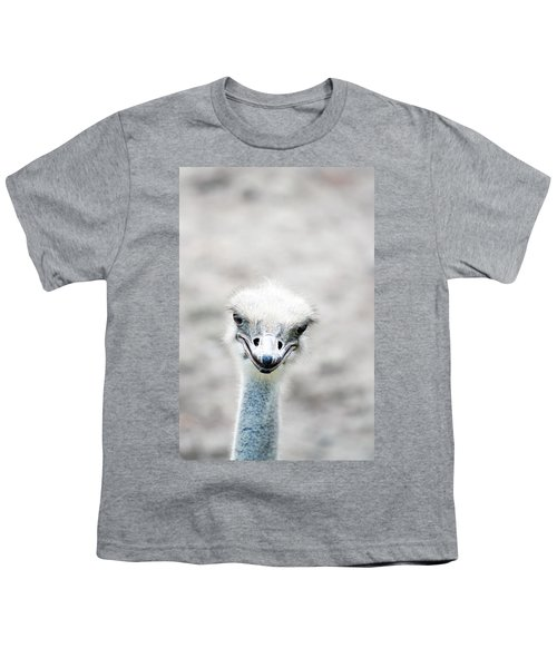 Ostrich Youth T-Shirt by Lauren Mancke