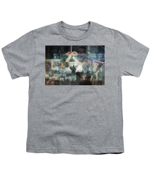 Our Monetary System  Youth T-Shirt by Eskemida Pictures