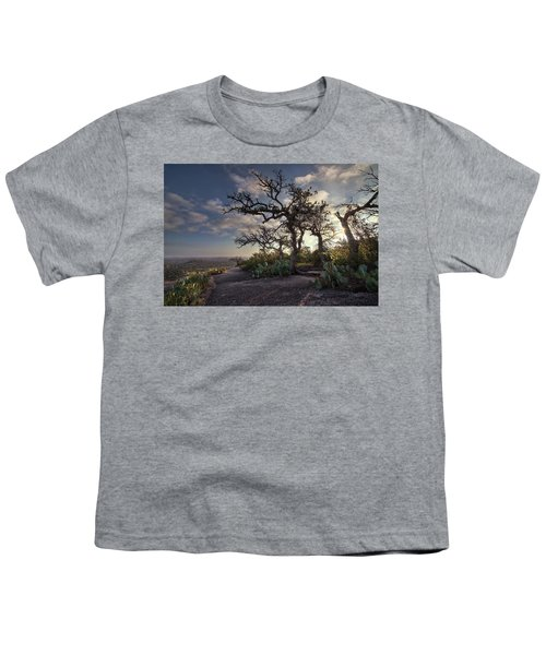 Pathway On Top Of Enchanted Rock Youth T-Shirt