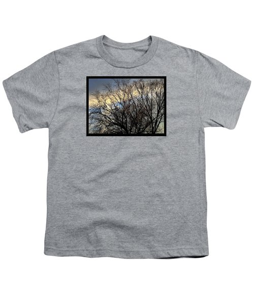 Patterns In The Sky Youth T-Shirt by Frank J Casella