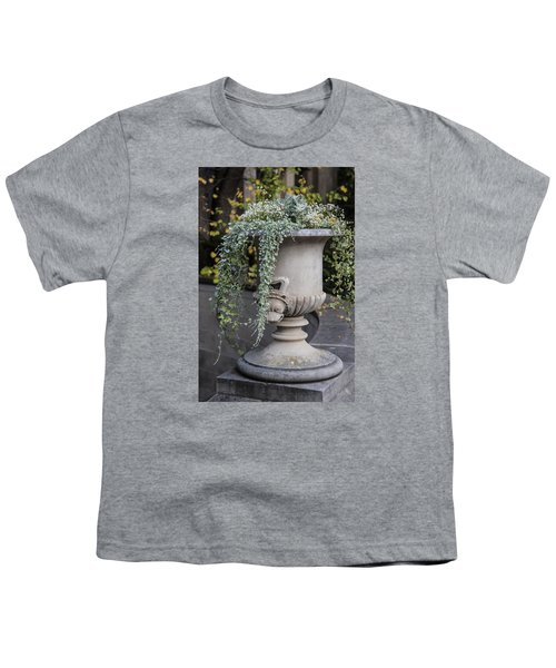 Penn State Flower Pot  Youth T-Shirt by John McGraw