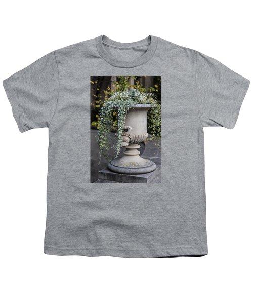 Penn State Flower Pot  Youth T-Shirt by John McGraw