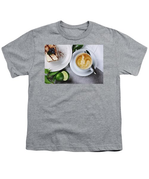 Perfect Breakfast Youth T-Shirt by Happy Home Artistry