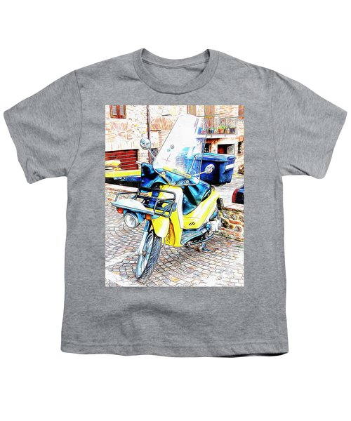 Piaggio Poste Italiene Youth T-Shirt