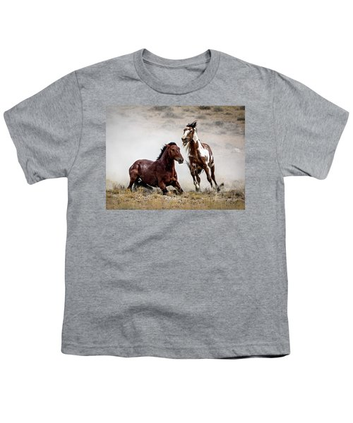 Picasso - Wild Stallion Battle Youth T-Shirt
