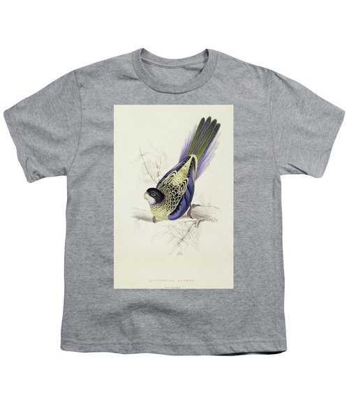 Platycercus Brownii, Or Browns Parakeet Youth T-Shirt