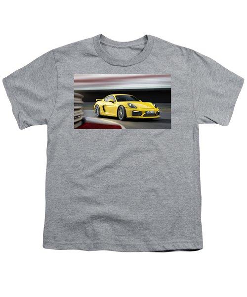 Porsche Cayman Gt4 Youth T-Shirt