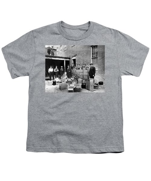 Prohibition, 1922 - To License For Professional Use Visit Granger.com Youth T-Shirt