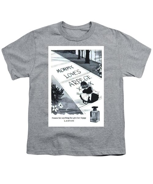 Youth T-Shirt featuring the digital art Promises by ReInVintaged