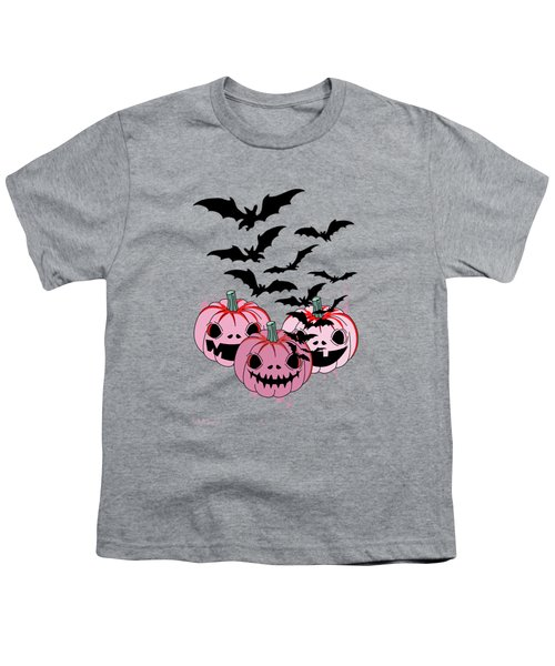 Pumpkin  Youth T-Shirt by Mark Ashkenazi