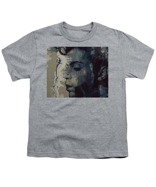 Purple Rain - Prince Youth T-Shirt by Paul Lovering