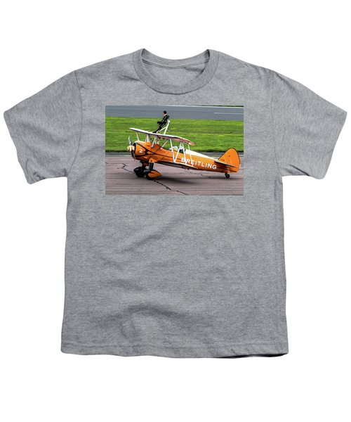 Raf Scampton 2017 - Breitling Wingwalkers At Rest Youth T-Shirt