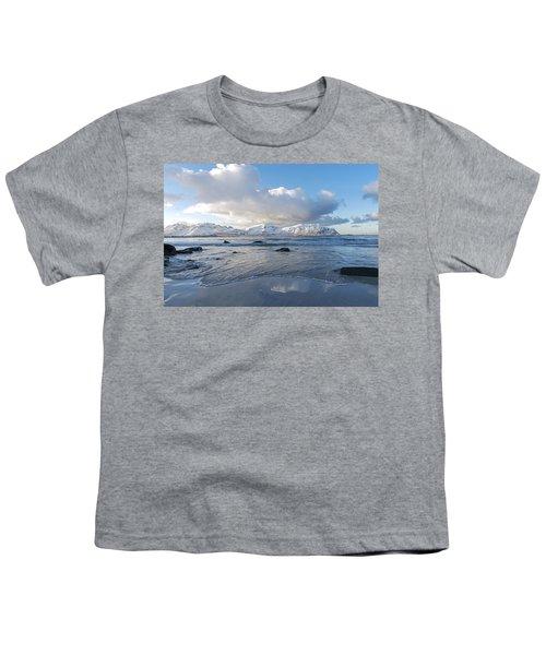 Ramberg Beach, Lofoten Nordland Youth T-Shirt