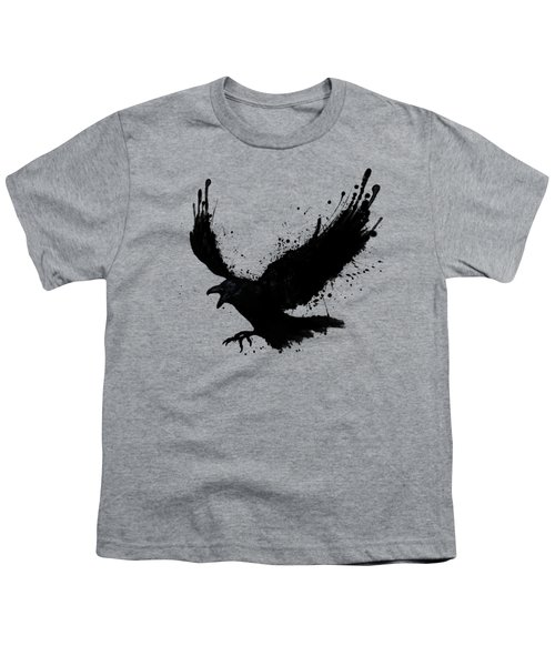 Raven Youth T-Shirt by Nicklas Gustafsson