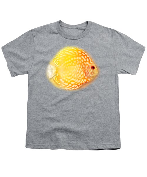 Red Pigeon Blood Discus No 01 Youth T-Shirt