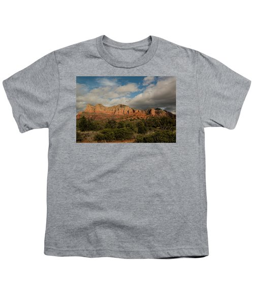 Red Rock Country Sedona Arizona 3 Youth T-Shirt by David Haskett