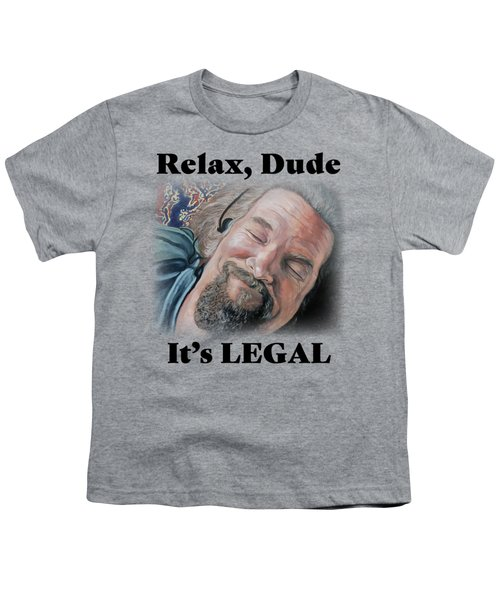 Relax, Dude Youth T-Shirt