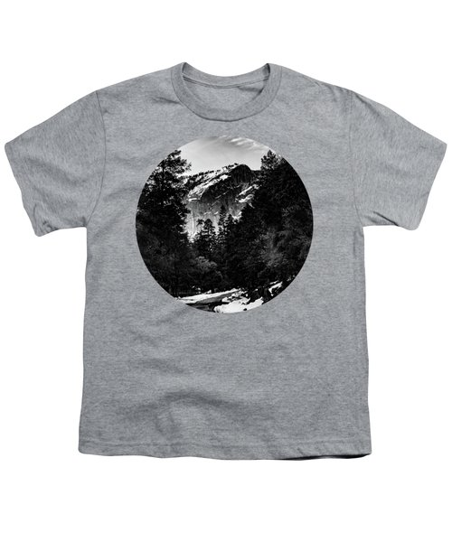 Road To Wonder, Black And White Youth T-Shirt by Adam Morsa