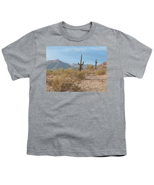 Saguaros On A Hillside Youth T-Shirt