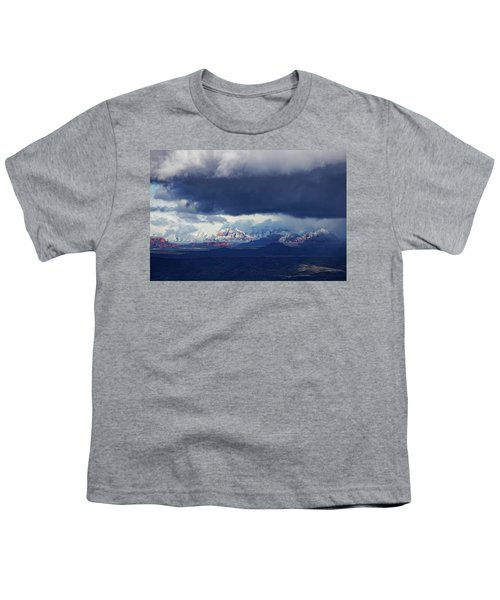 Sedona Area Third Winter Storm Youth T-Shirt
