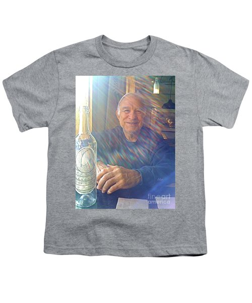 Self Portrait One - Light Through The Window Youth T-Shirt