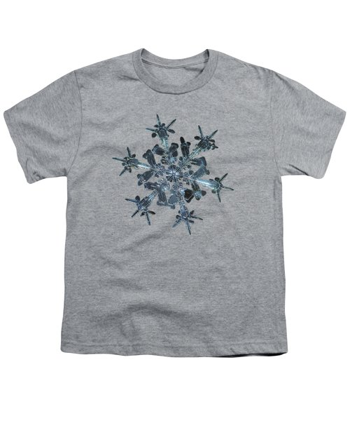 Snowflake Photo - Starlight II Youth T-Shirt by Alexey Kljatov