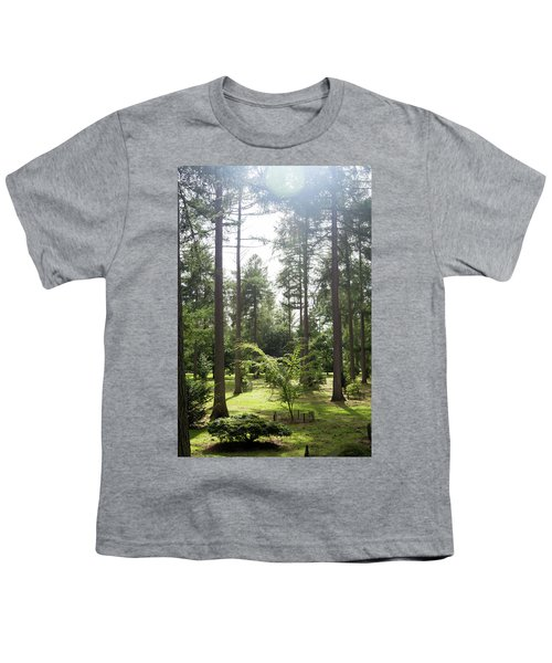 Sunlight Through The Trees Youth T-Shirt