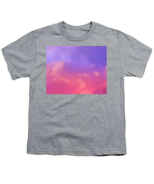 Sunset Clouds Youth T-Shirt