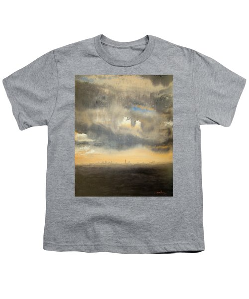 Sunset Over The City Youth T-Shirt