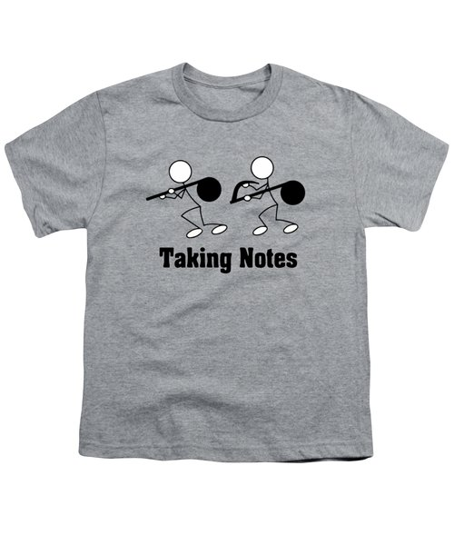 Taking Notes Youth T-Shirt