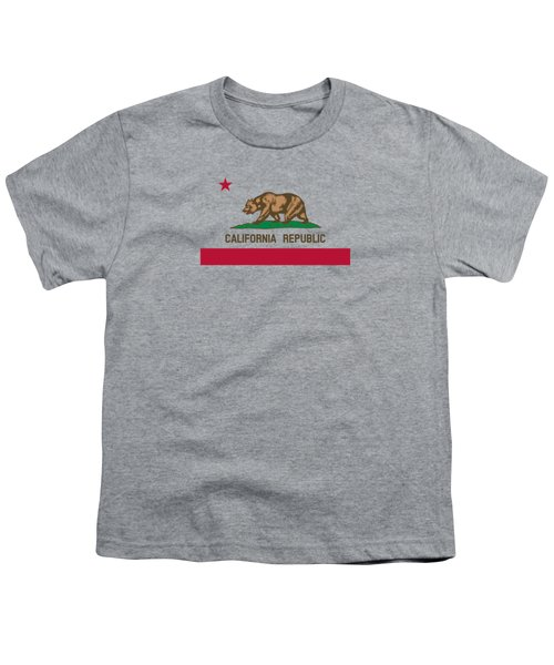 The Bear Flag - State Of California Youth T-Shirt