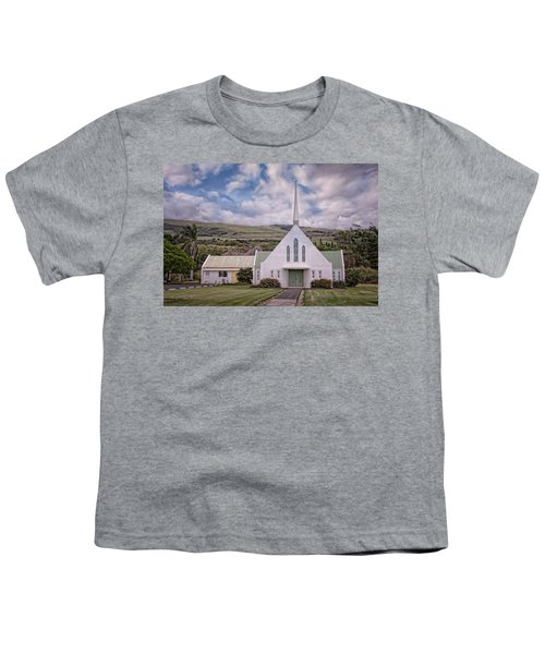 Youth T-Shirt featuring the photograph The Church by Jim Thompson