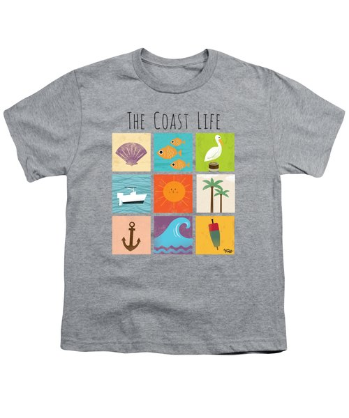 The Coast Life Youth T-Shirt by Kevin Putman