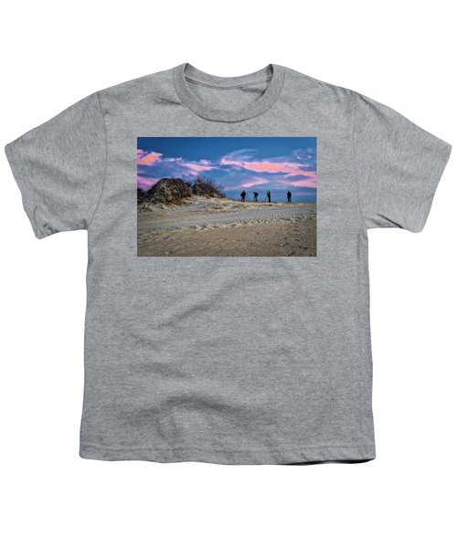 The Colors Of Sunset Youth T-Shirt