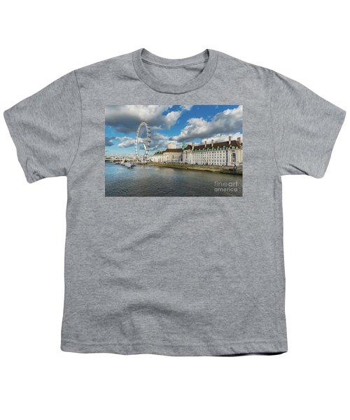 The Eye London Youth T-Shirt by Adrian Evans