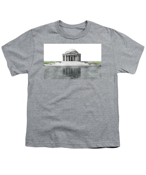 Thomas Jefferson Memorial, Washington Youth T-Shirt