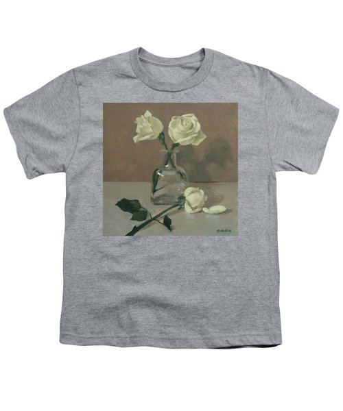 Three Roses In A Tequila Bottle Youth T-Shirt