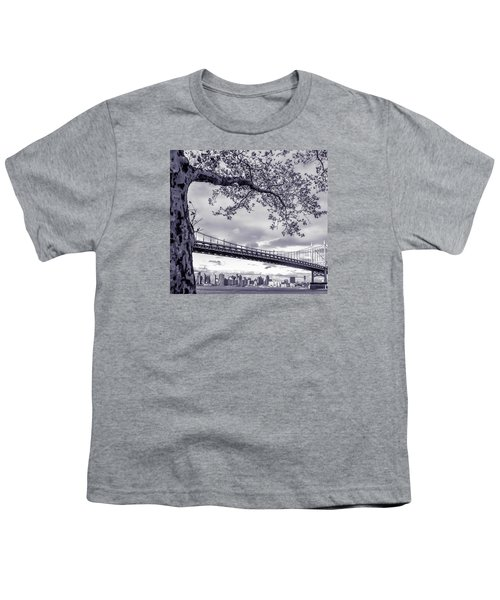 Tree With A Bridge Youth T-Shirt