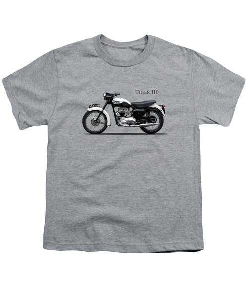 Triumph Tiger 1959 Youth T-Shirt by Mark Rogan