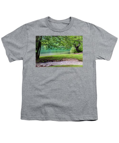 Turquoise Zen - Plitvice Lakes National Park, Croatia Youth T-Shirt