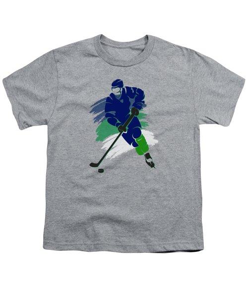Vancouver Canucks Player Shirt Youth T-Shirt by Joe Hamilton