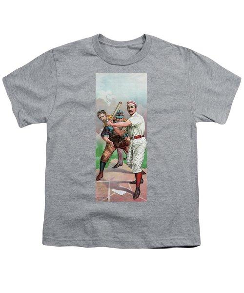 Vintage Baseball Card Youth T-Shirt