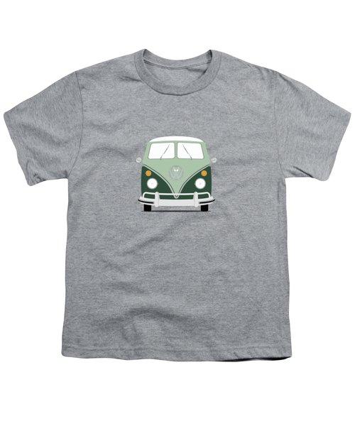 Vw Bus Green Youth T-Shirt