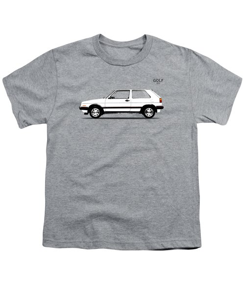 Vw Golf Gti Youth T-Shirt by Mark Rogan