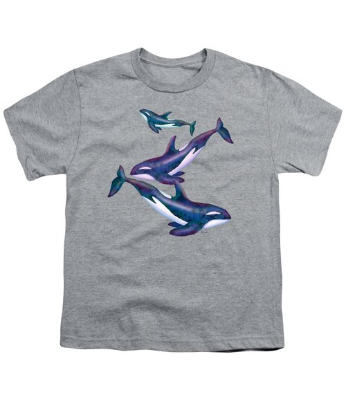 Whale Whimsey Design Youth T-Shirt