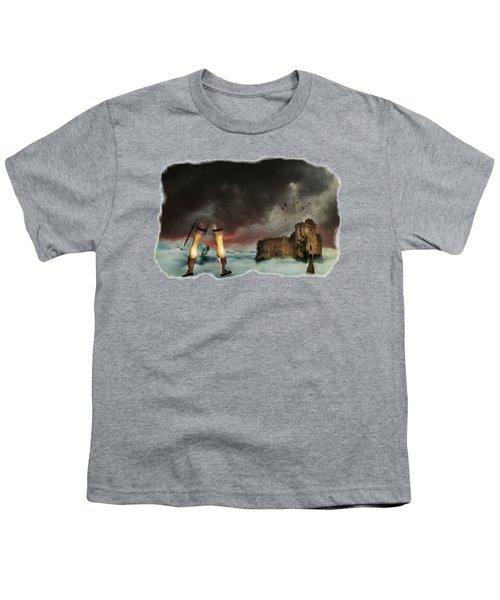 Where Giants Dwell Youth T-Shirt