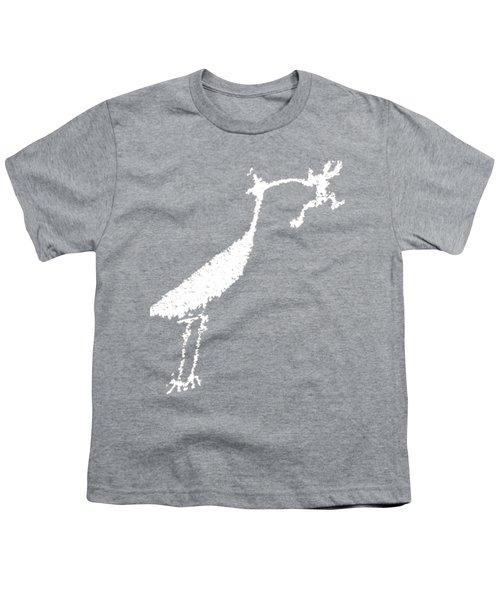 White Petroglyph Youth T-Shirt
