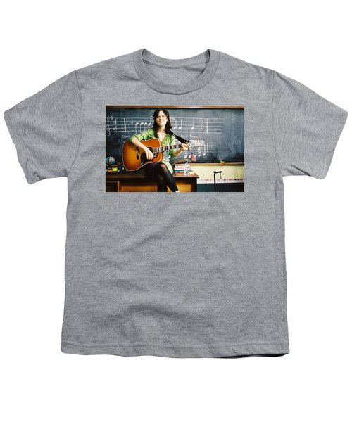 Zooey Deschanel Youth T-Shirt