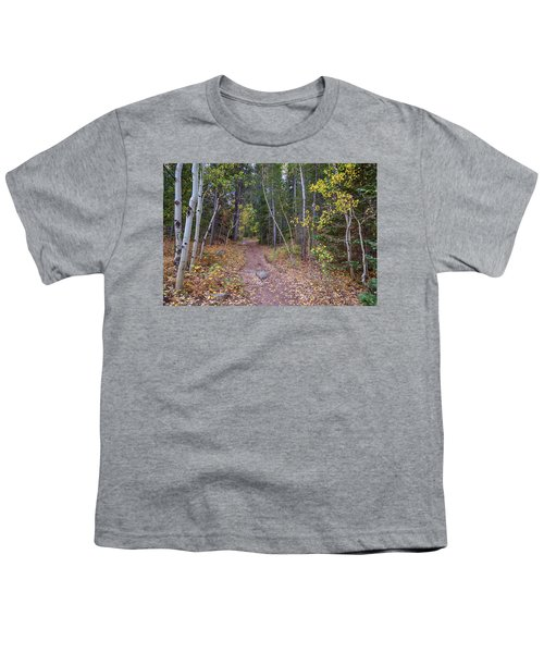 Youth T-Shirt featuring the photograph Trailhead by James BO Insogna